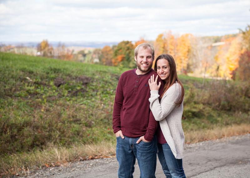 Andrew + Christie ı Engagement Session ı Owego, NY