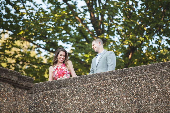 Adams Morgan and Meridian Hill Park Engagement Session | Photos from the Harty