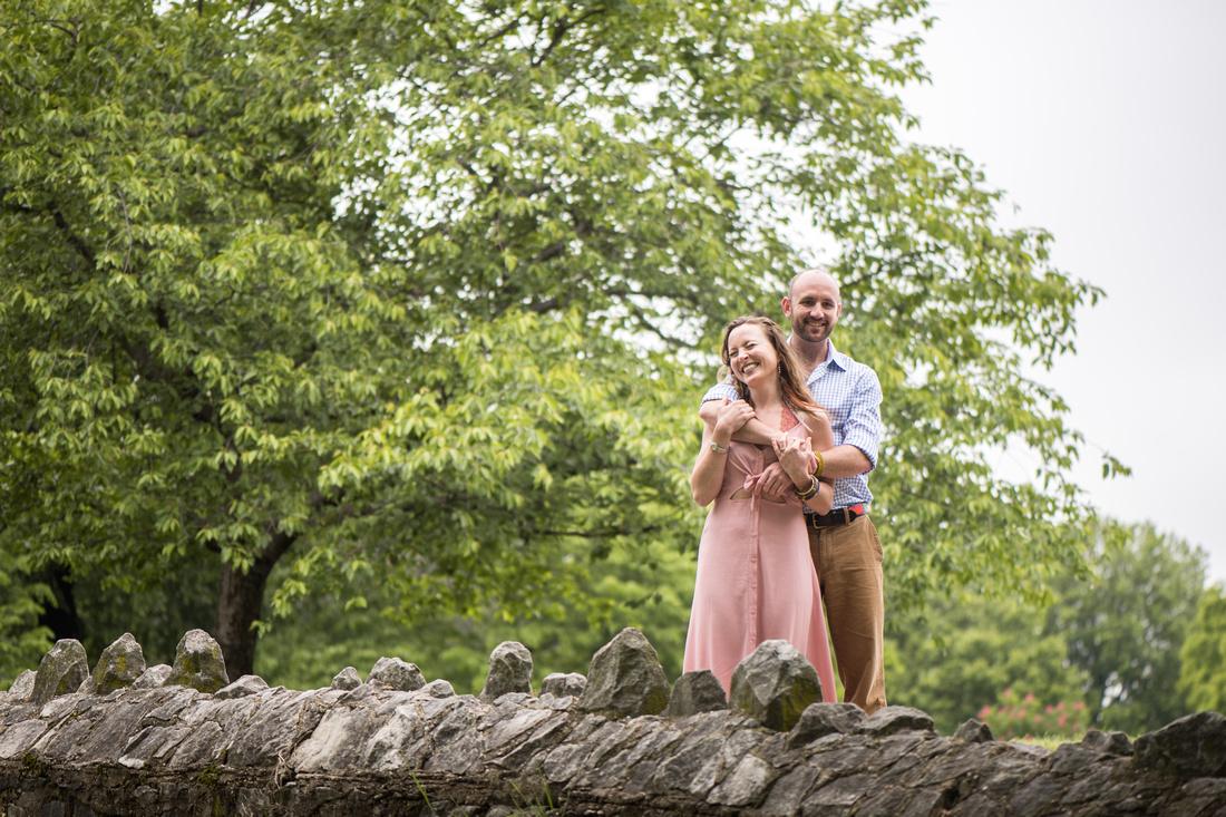 June + Garrick's Engagement Session | Patterson Park