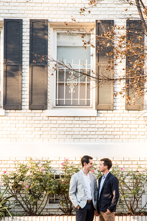 Nick + Brett's Engagement shoot | Photos from the Harty