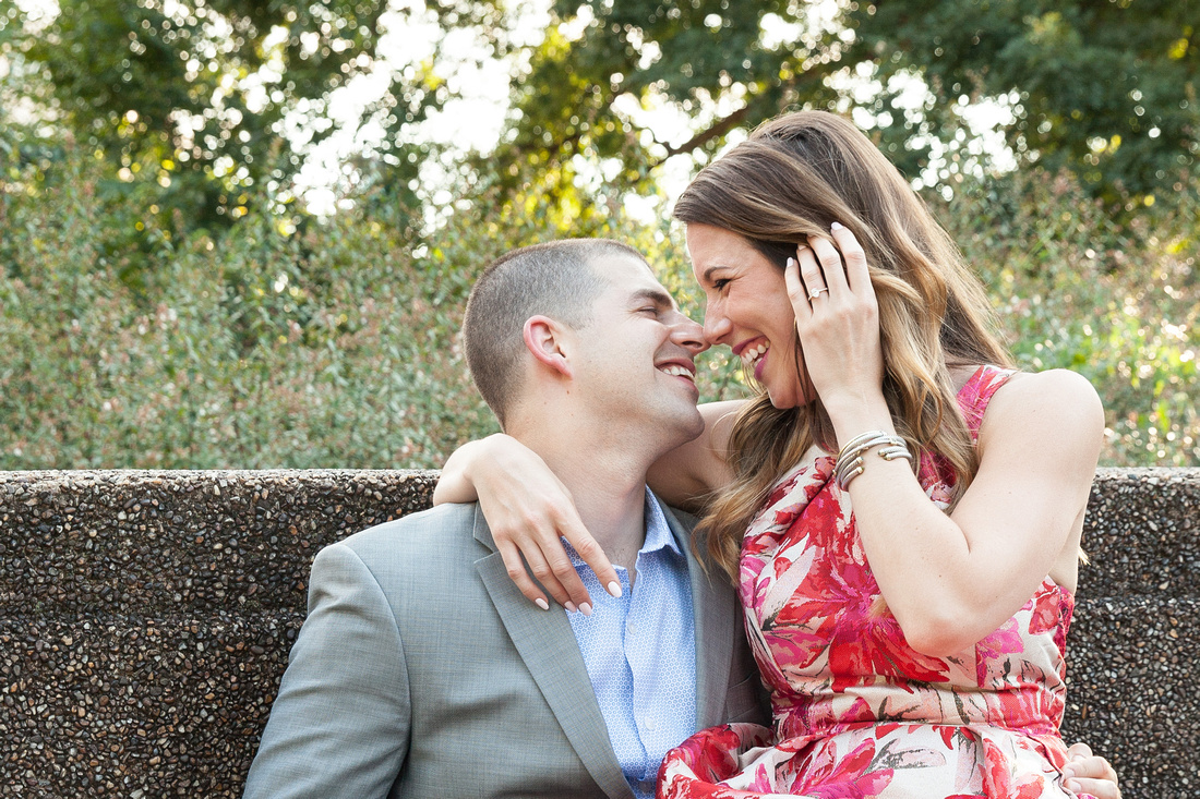 Danielle + Eddie's Engagement | Photos from the Harty | Meridian Hill Park in Washington, DC | Mervis Diamond Importers asked us to share tips for planning your proposal and the importance of having it photographed professionally