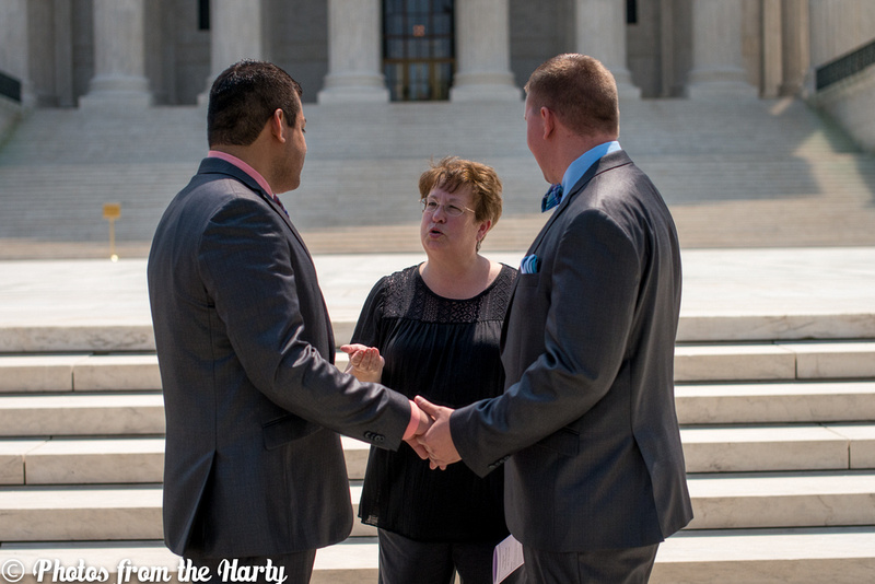 """Wedding, Weddings, Tennessee, Washington, DC, """"Washington DC"""", """"DC Metro Area"""", DMV, Photography, Photographer, Photographers, Photographs, Photograph, Picture, Pictures, Pics, Pic, Image, Images, Men, Gay, Man, Suit, Matching, Park, """"Meridian Hill Park"""", Dupont, """"Dupont Circle"""", Outdoor, Outdoors, Kalorama, Fountain, Private, Intimate, Classy, Adorable, Sweet, Pink, Green, Officiant, LGBT, """"Supreme Court"""", Court, Elope, Eloping, Elopement, Marriage, Gay, bow-tie, Suspenders, Grey, Guy, Guys, Gray, """"Sara Alepin"""", Sara, Alepin, Hartenstine, Harty, """"Sara Hartenstine"""", """"Photos from the Harty"""", Marry, Marrying, Legal, Andrew, Milton, Gentlemen, Gentleman, Blonde, Hispanic, Latino, Cook, Chef, Love, Loving, Anniversary, """"United States"""", US, Nation, Capital, Capitol, """"US Supreme Court"""", """"Supreme Court of the United States"""", USA, """"United States of America"""", Legally, """"Nation's Capital"""", Happiness"""