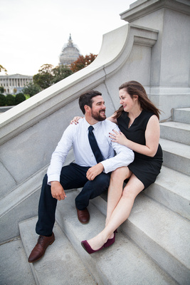 "Engagement, Engaged, Wedding, Planning, Bride, ""Bride to be"", Romantic, ""Planning a wedding on a budget"", Capitol, Capital, Building, Architecture, Washington, DC, ""Washington DC"", VA, MD, Professiona"