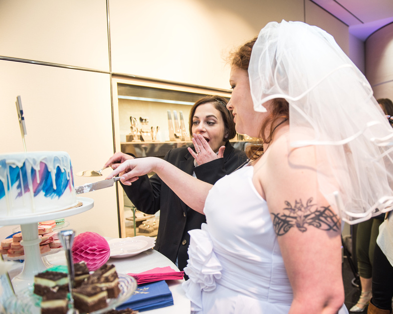 Mervis Pop-Up Wedding!   Photos from the Harty