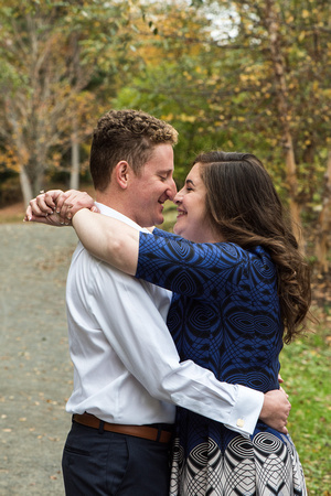 Laura + Alex's engagement session! | Photos from the Harty